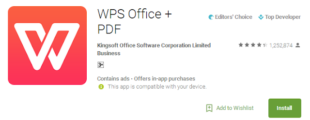 Kingsoft Office Pdf Reader