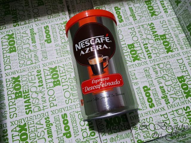 Nescafé Azera Descafeinado Degustabox Abril ´18 - Especial Aniversario