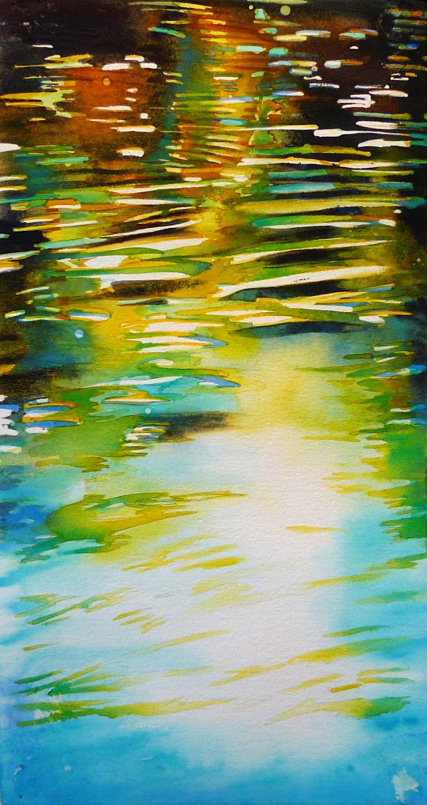 paintings: Ripple-- surface of water