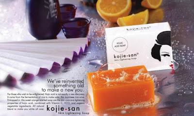 Cara Pemakaian Sabun Kojie San Soap