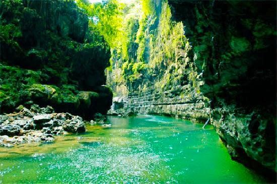 sejarah green canyon