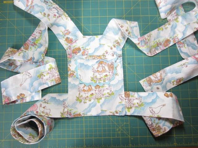 Handmade Dress Haven Baby Doll Mei Tai Carrier Free