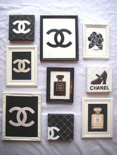 Chanel inspired decor for Channel 4 bathroom design ideas