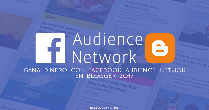 facebook audience en blogger 2017