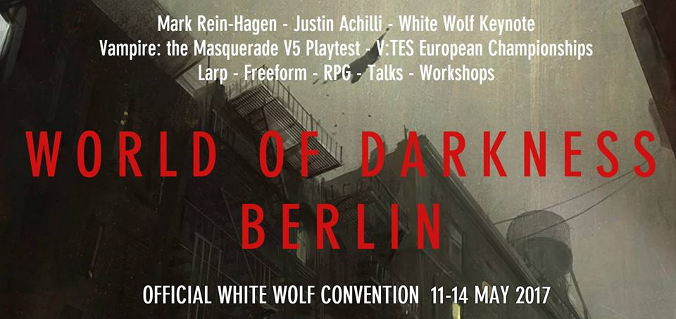 World of Darkness Berlin and Enlightenment in Blood