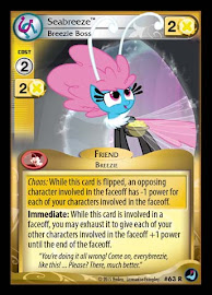 My Little Pony Seabreeze, Breezie Boss High Magic CCG Card