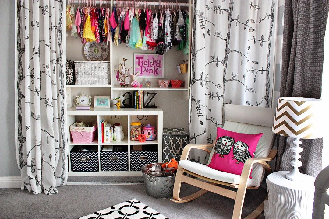 Decoraci n f cil armarios lowcost con cortinas - Armarios para zapatos ...