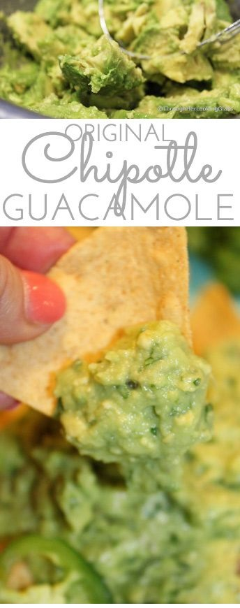 Original Chipotle Guacamole Recipe