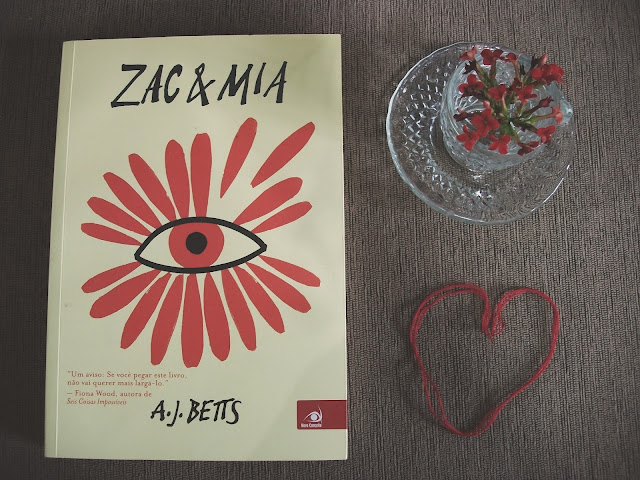 Livro Zac & Mia de A. J. Betts