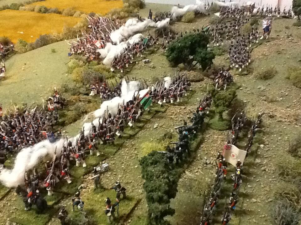Peninsular action using General de Brigade