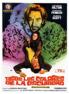 Todos los colores e la oscuridad, un excelente giallo dirigido por Sergio Martino