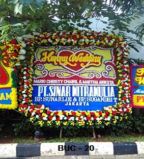 Karangan Bunga Pernikahan Cipondoh