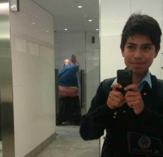 Urinal Selfie