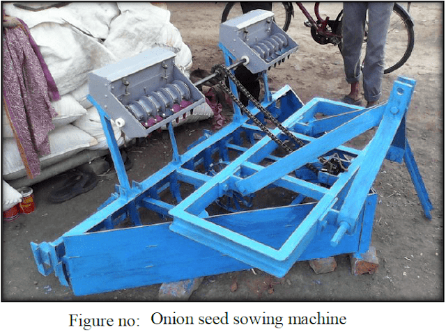 Design and Fabrication of Onion Seed Sowing Machine