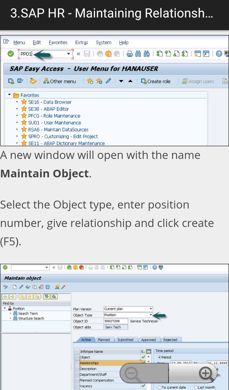 Learn SAP HR