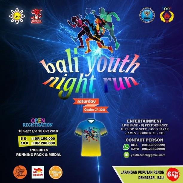 Bali Youth Night Run • 2018