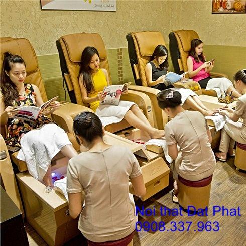 ghế tiệm nail, ghế tiệm nail giá rẻ, ghế spa, ghế nail