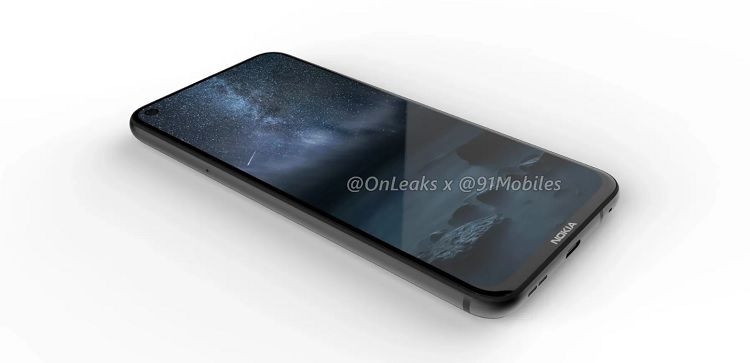 Nokia 8.1 Plus with Punch Hole Selfie Camera Revealed in Renders