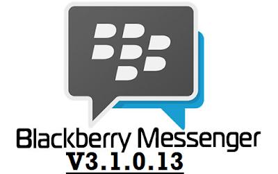 BBM Versi 3.1.0.13 Apk Official Terbaru