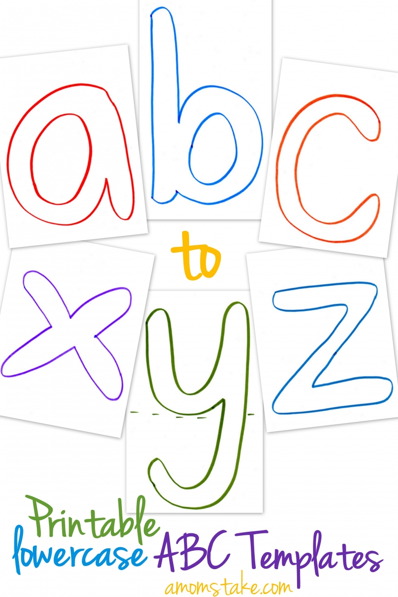 learning to write alphabet templates - alphabet munchkins and mayhem