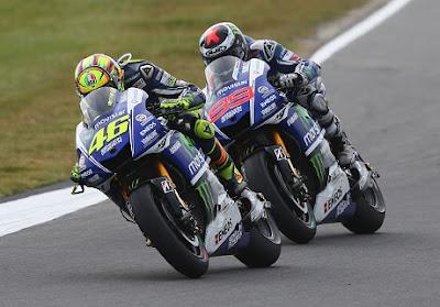 Marquez: Perseteruan Rossi vs Lorenzo Untungkan Saya