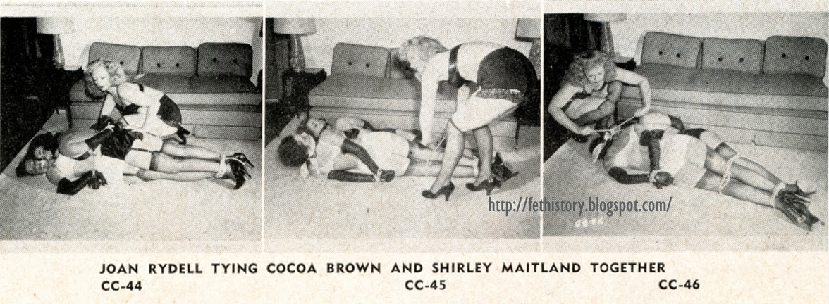 Joan Rydell, Cocoa Brown, and Shirley Maitland