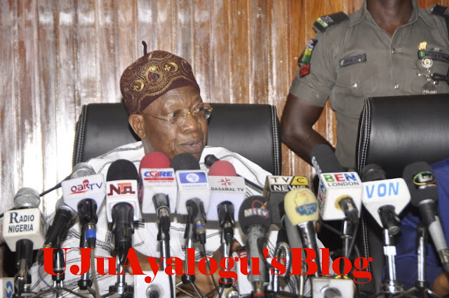 """We """"cannot sleep with our eyes closed because of the media"""" – Lai Mohammed"""