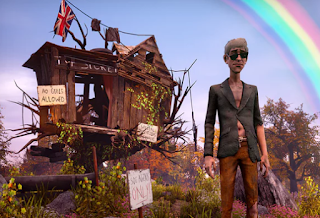FASCINATING WE GETS HAPPY FEW IS A  AMBITION  THAT  LOST IN ITS OWN GAME CREEPY
