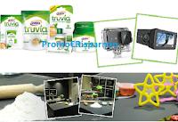 Logo Cucina, vota e vinci gratis con Truvia di Eridania: 28 forniture Truvia, Action Cam e corso di cucina Sale&Pepe