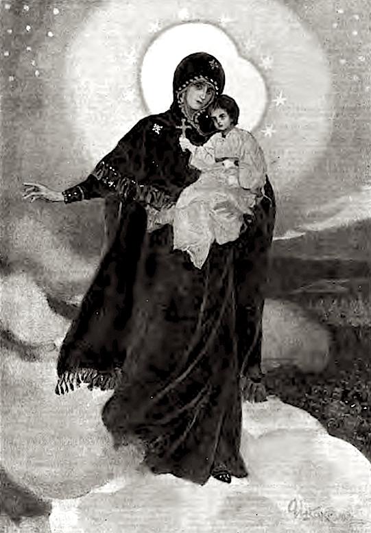 Августовская икона Божией Матери 1914.