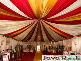 Sewa Tenda Dekorasi VIP - Rental Tenda VIP Pernikahan