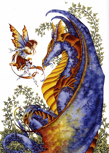 Amy Brown Fairies and Dragons