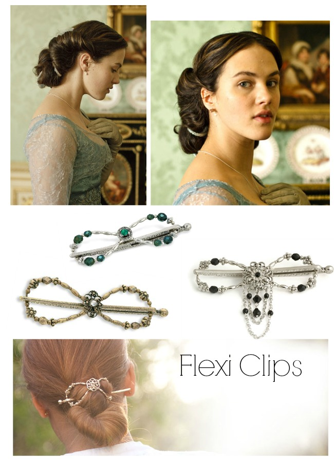 lady sybil downton abbey style hair accessories and downton hairstyles via va voom vintage