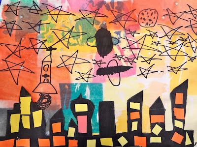 Cityscapes for First Grade