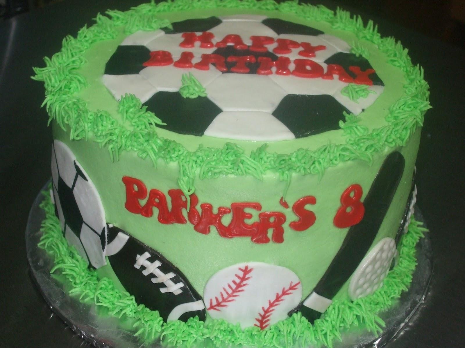 Cakes By Paula Sports Themed Birthday Cake