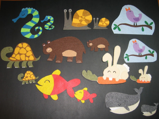 Flannel Board Fun Animal Pairs