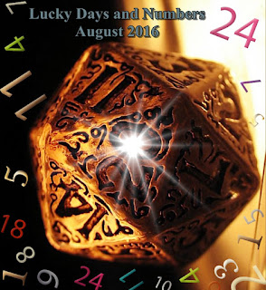 Lucky Days and Numbers for each sign for August 2016