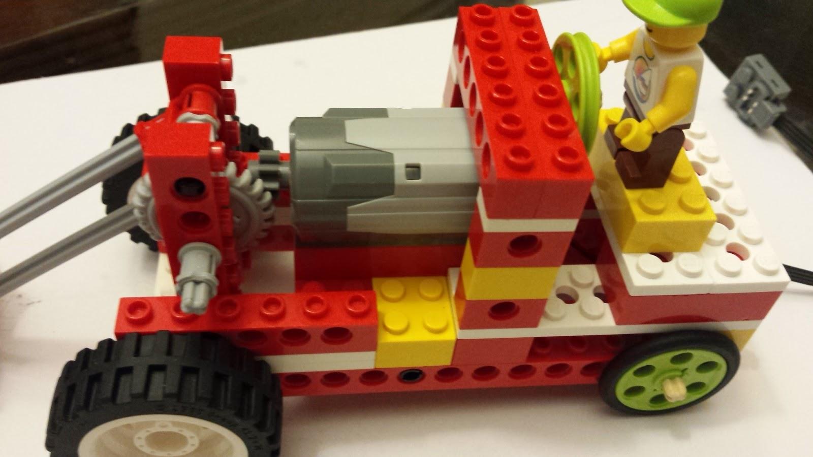 Aula Robótica Dominicana: Carro Con Lego WeDo