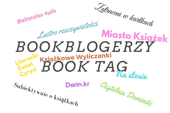 BOOKBLOGERZY TAG