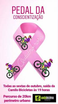 a839039b50 Outubro Rosa – Alta Floresta promove Pedal da Conscientização - Na ...