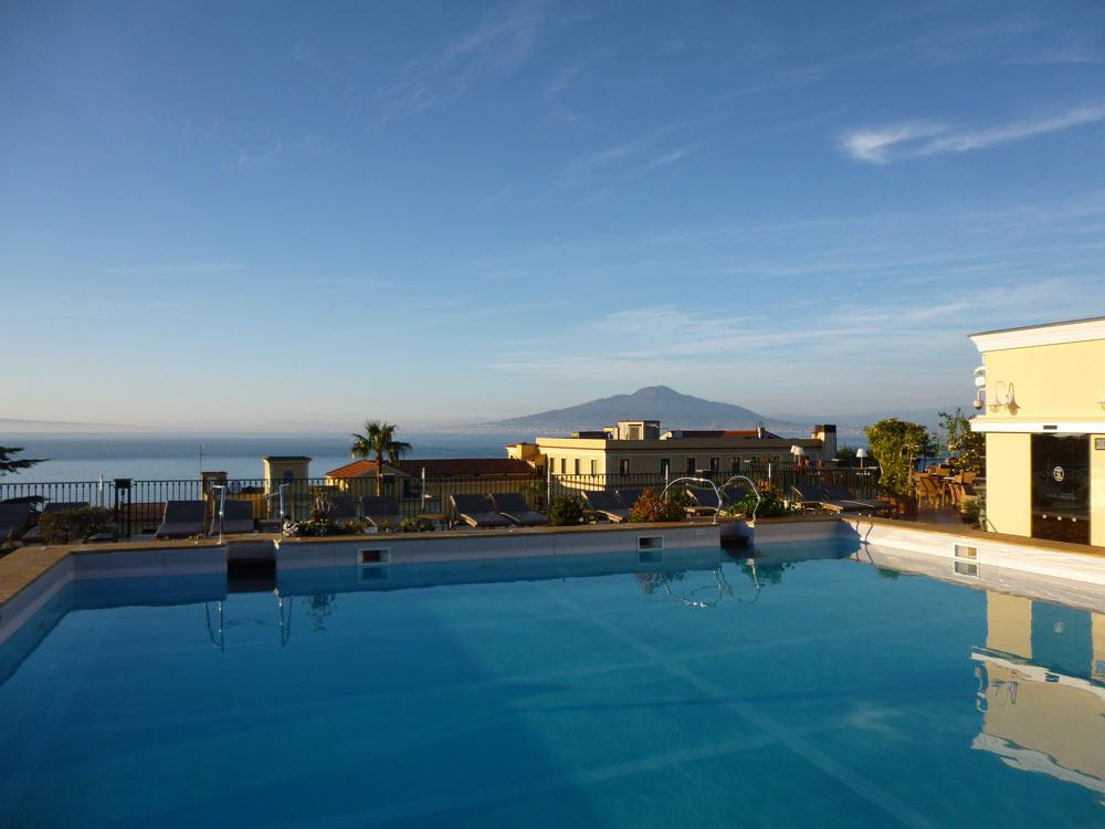 Italy heaven grand hotel la favorita sorrento review - Hotel in sorrento italy with swimming pool ...