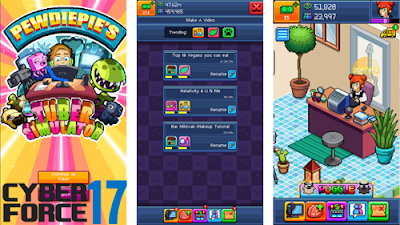 Download Game PewDiePie's Tuber Simulator MOD APK Unlimited Money Bux 1.1.0 Terbaru 2017