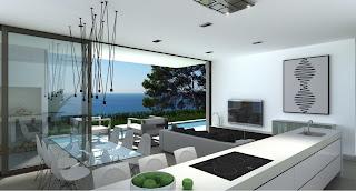 Designer Villa interior