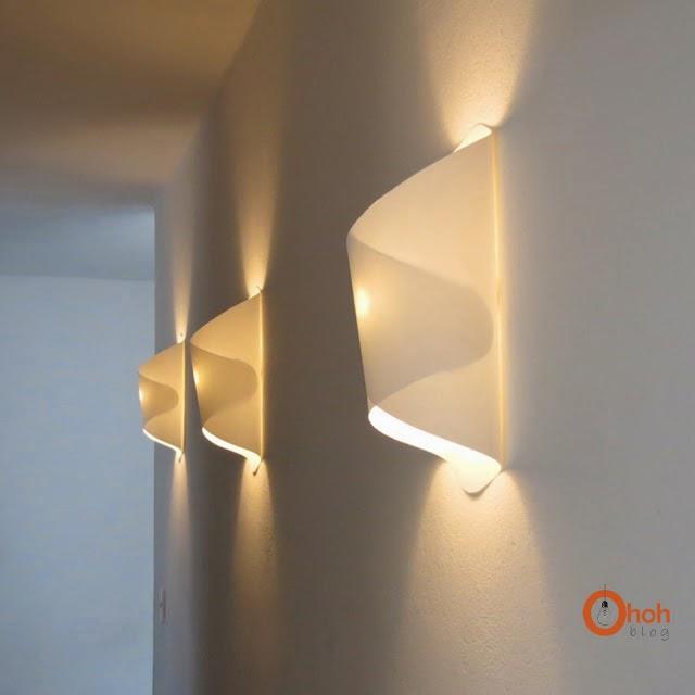 die wohngalerie papierne wandlampe zum selbermachen. Black Bedroom Furniture Sets. Home Design Ideas