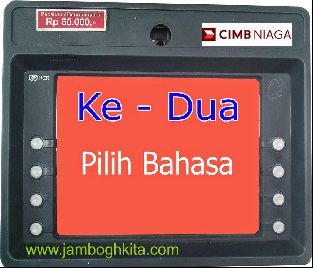 Ganti PIN Di ATM CIMB Niaga