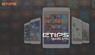 Aplicacion de Iphone y Ipad para planificar tus vacaciones Etips