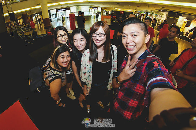 #TCSelfie with Jess Lee, Ben Dan, Janice Yeap and Jenifer Furfer
