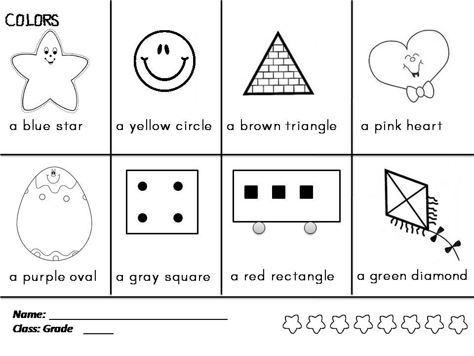 Enjoy Teaching English: COLORS & SHAPES