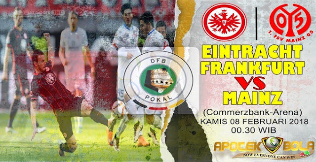 Prediksi Eintracht Frankfurt vs Mainz 05 8 Februari 2018
