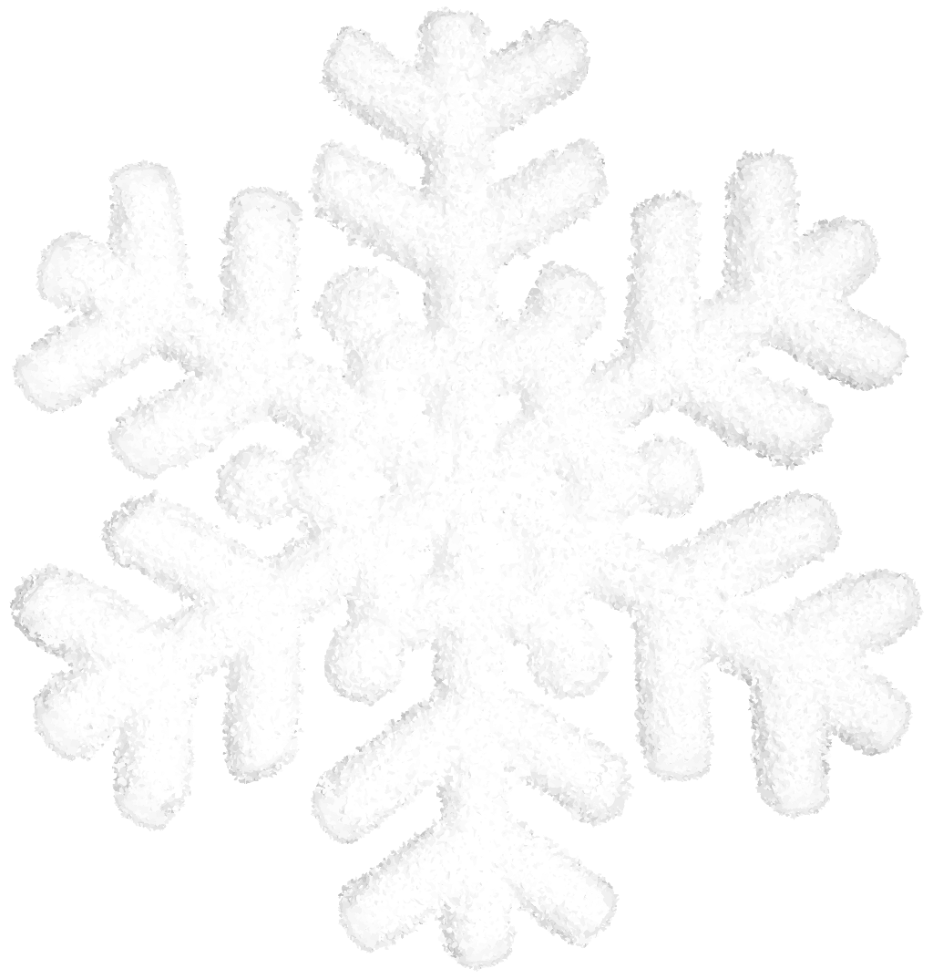 render copo de nieve